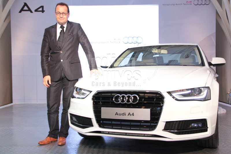 2012 Audi A4 launched at Rs 27.33 lacs