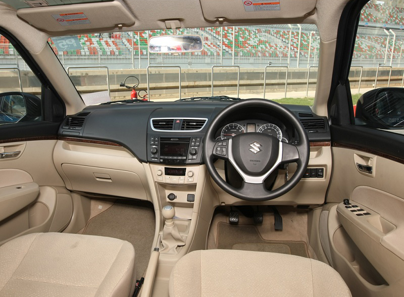 2012 Maruti Suzuki Swift interior