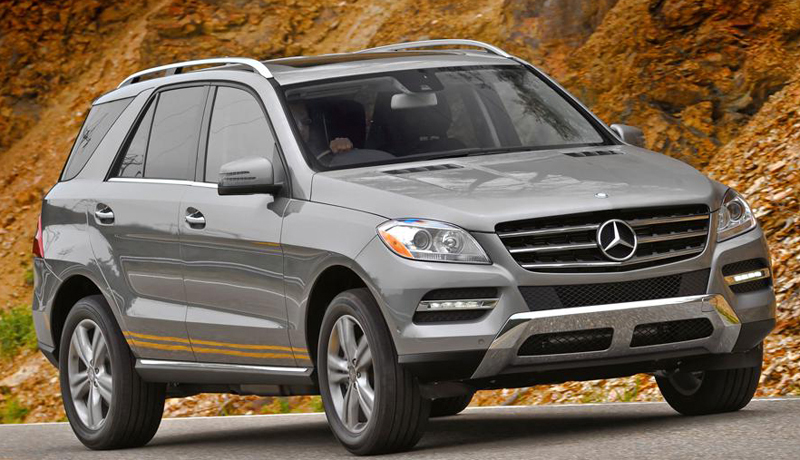 2012 Mercedes Benz ML350 CDI