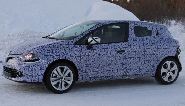 2013 Renault Clio teased