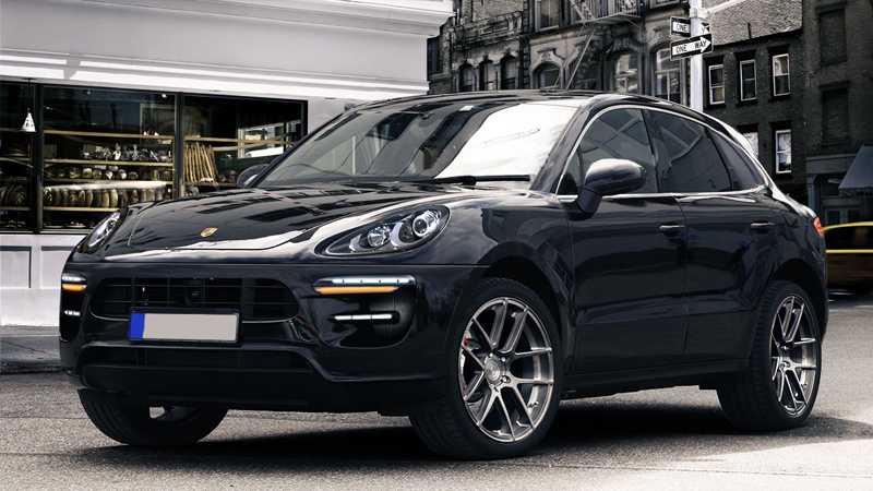 2014 Porsche Macan rendered
