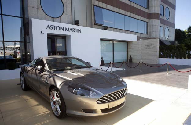 Aston Martin opens a new dealership in New Delhi