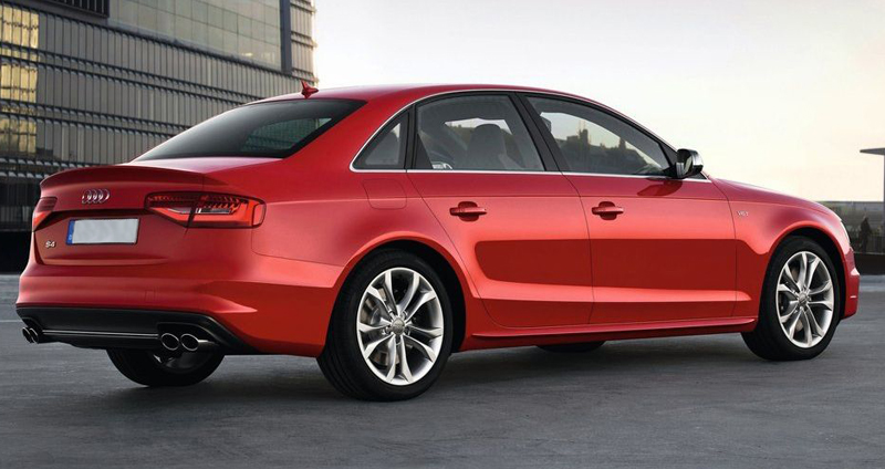 Audi may make the high performance 2013 S4 Sedan available in India