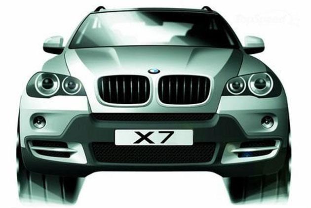 BMW X7, X8, CS in works