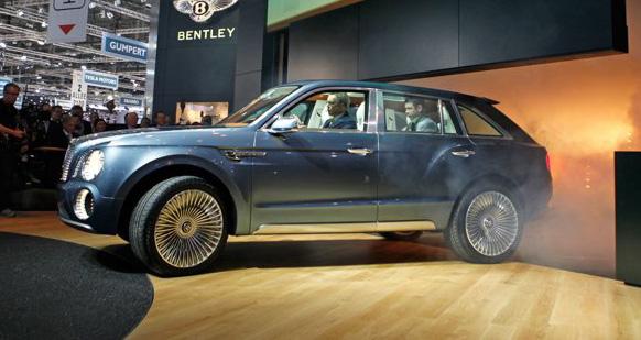 Bentley to enter Dakar Rally with EXP 9F