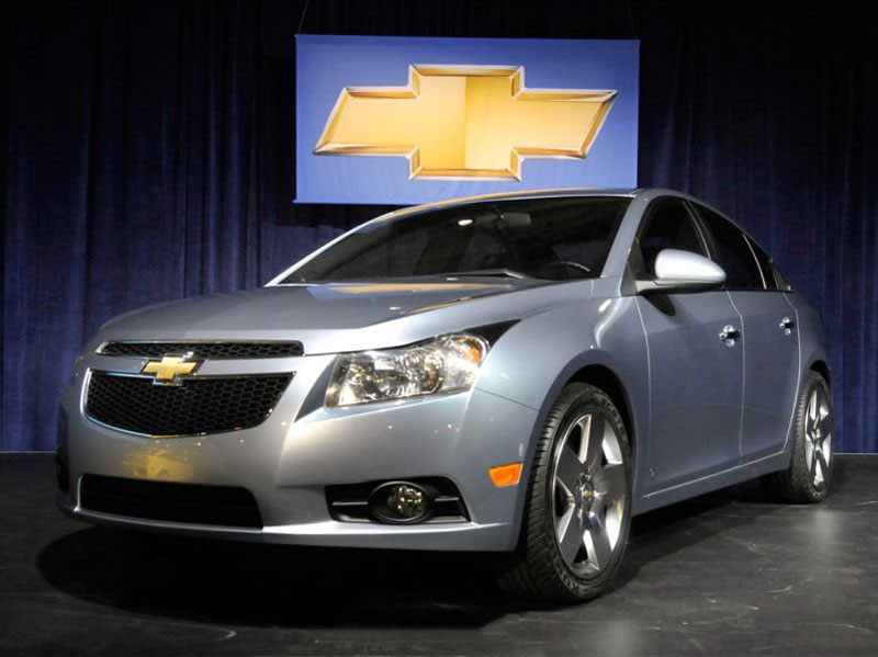 Chevrolet Cruze facelift coming in June