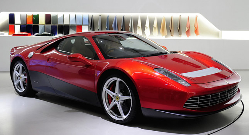 Eric Clapton's One-Off Ferrari SP12 EC: Revealed