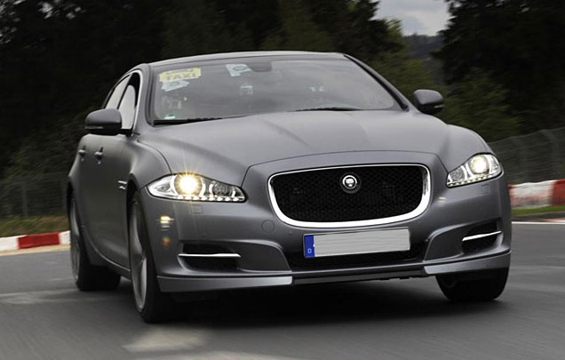 Jaguar launches 'Ring Cab' service with the XJ Supersport limo at Nurburgring