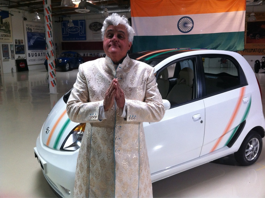 Jay Leno Adds Tata Nano To His Car Collection
