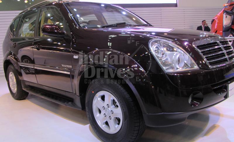 Mahindra Rexton SUV in India