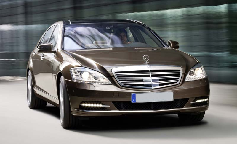 Mercedes-Benz S Class replacement to sport 9-speed transmission