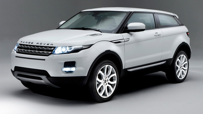 Sport version of Range Rover Evoque in progress