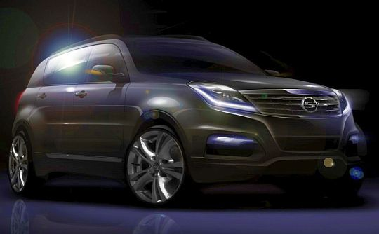 Ssangyong Rexton SUV facelift to debut at 2012 Busan Auto Show