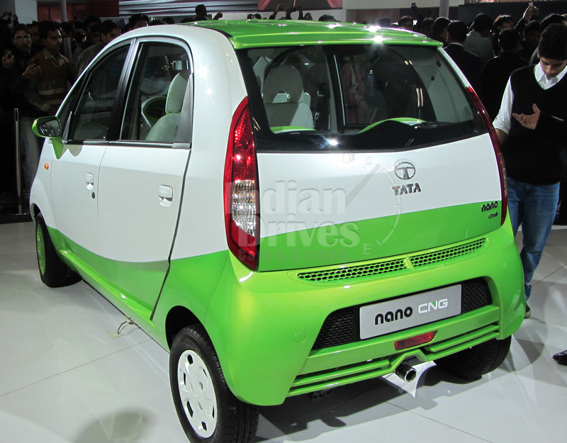 Tata Nano CNG to roll out by March 2013