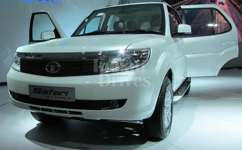 Tata Safari Storme expecting a June-July launch