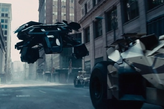 The Dark Knight's new Batmobile can fly