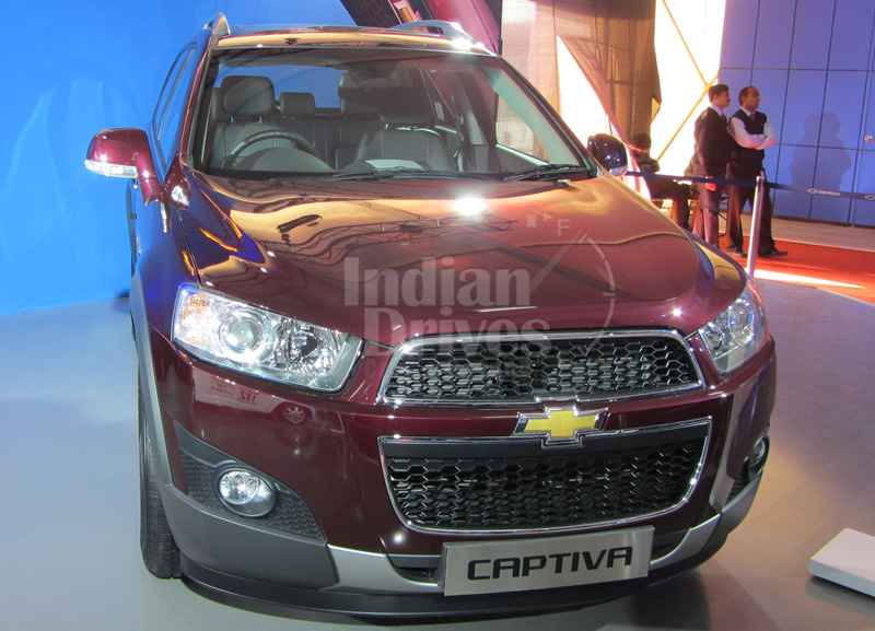 New Chevrolet Captiva to hit the Indian Roads by June