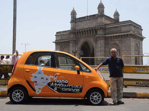 Thomas Chacko journey with Tata Nano
