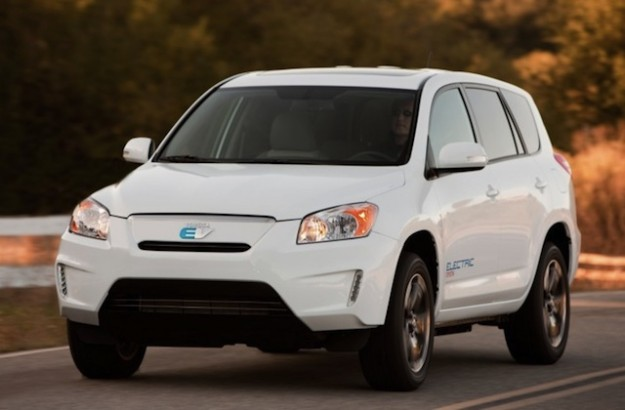 Toyota RAV4 electric SUV to debut at the International Electric Vehicle Symposium