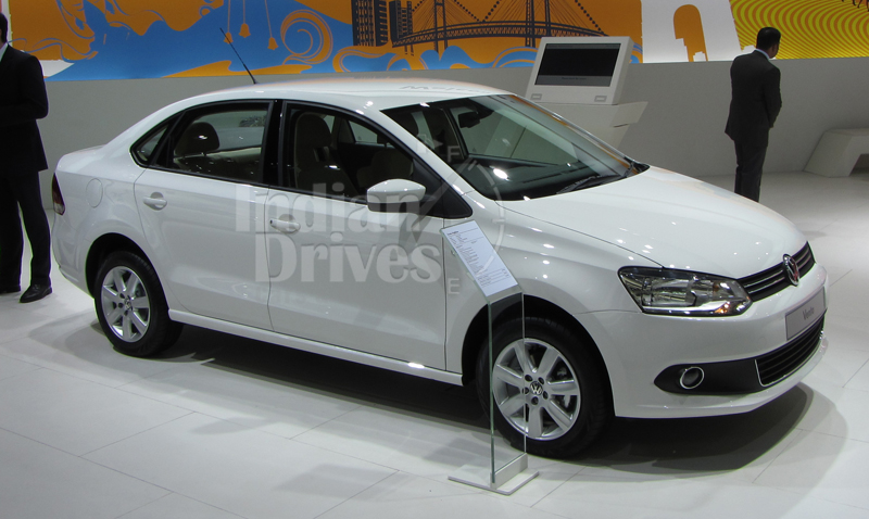 Volkswagen Vento cars in India