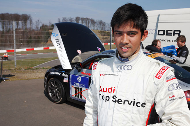 Young racing talent Aditya Patel set to create motorsport history with Audi