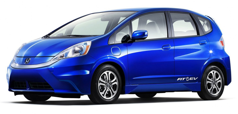 2013 Honda Fit EV Becomes the Most fuel-efficient car
