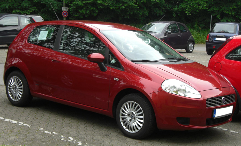 All new Fiat Punto launched in UK