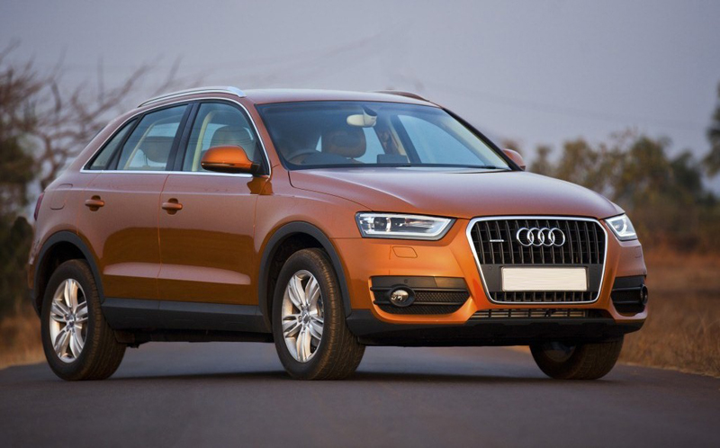 Audi Launches its Q3 model in the Indian market