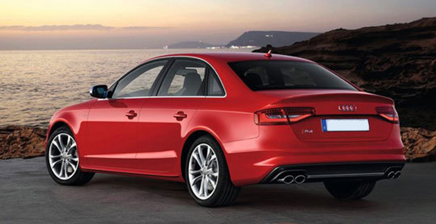 Audi S4 back view