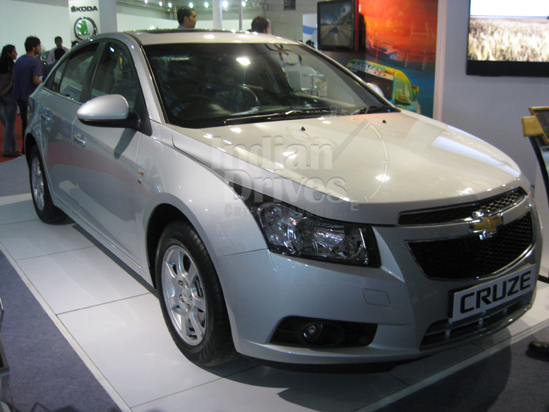 New Chevrolet Cruze launched in the Indian market for Rs.13.85 lacs