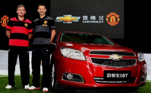 Chevrolet appointed as official automotive partner for Manchester United