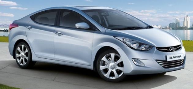 Hyundai Elantra Fluidic undergoes test runs prior to July launch