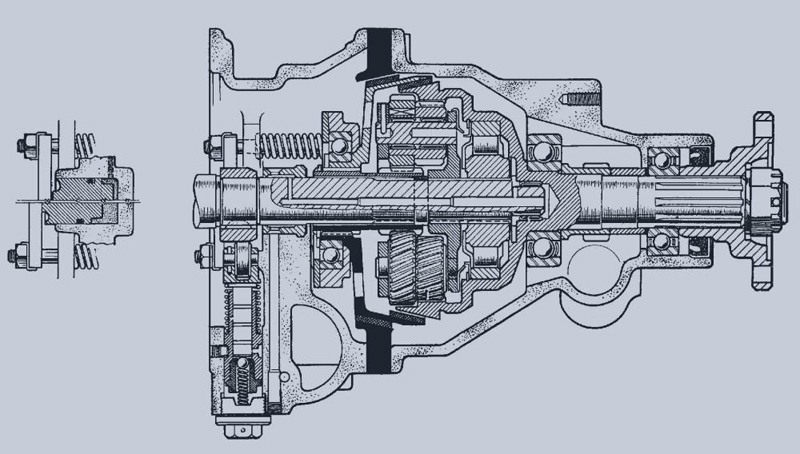 Ingenious gearbox design