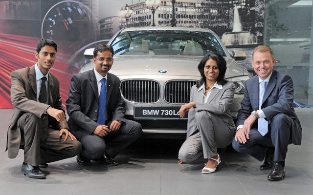 Launch of International Management Associates Programme in India by BMW