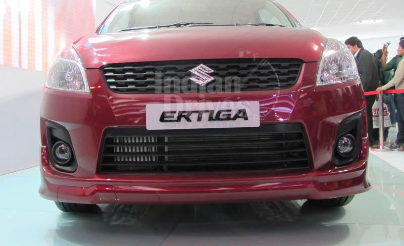 Maruti Suzuki Ertiga In India