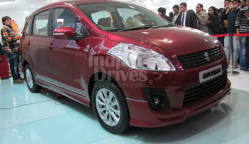 Maruti Suzuki Ertiga Exteriors In India