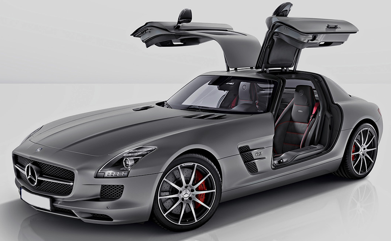 Mercedes-Benz SLS AMG gets more powerful with the GT badge
