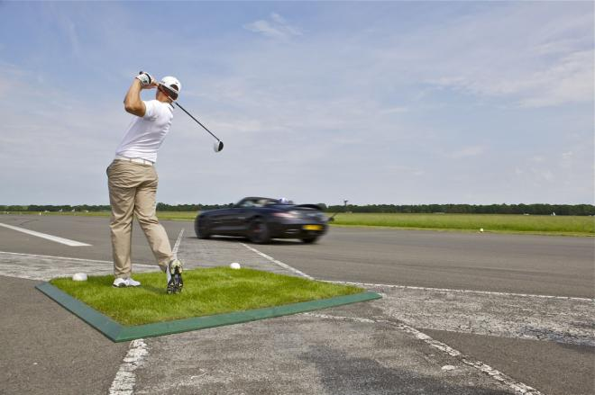 Mercedes SLS AMG Roadster sets world record for catching a golf ball at 178mph