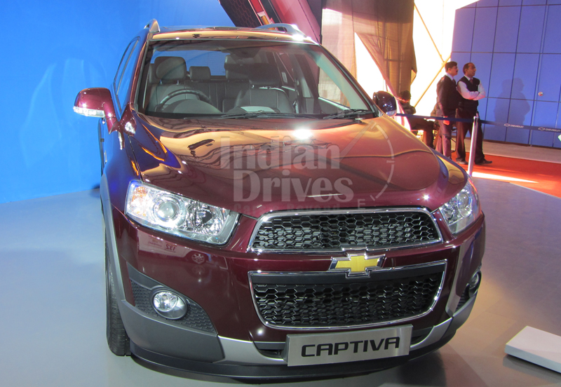 New Chevrolet Captiva launched for Rs.18.74 lacs