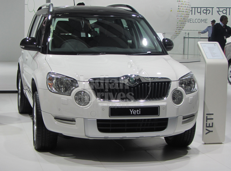 New Version of Skoda Yeti to be launched soon