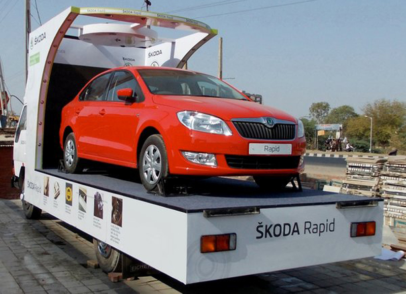 Skoda Rapid Float Campaign kicked off in Andhra Pradesh