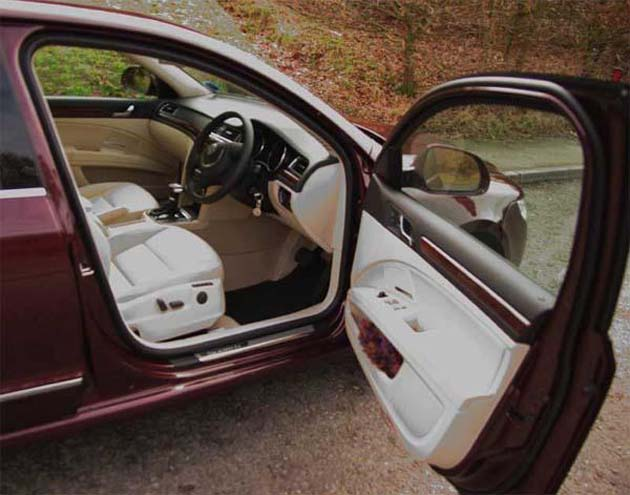 Skoda Superb interiors