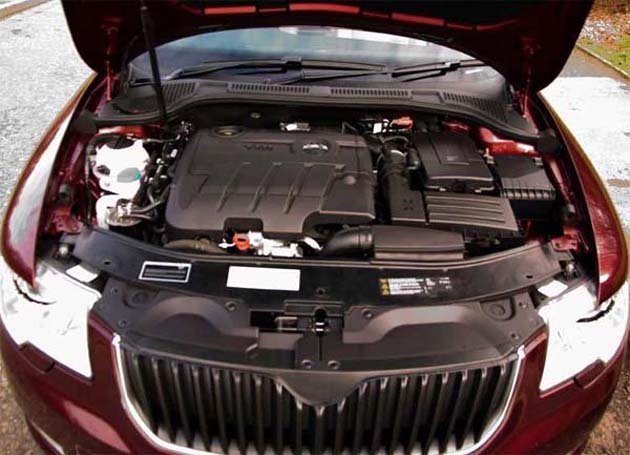 Skoda Superb engine