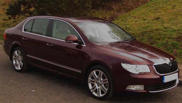 Skoda Superb in India