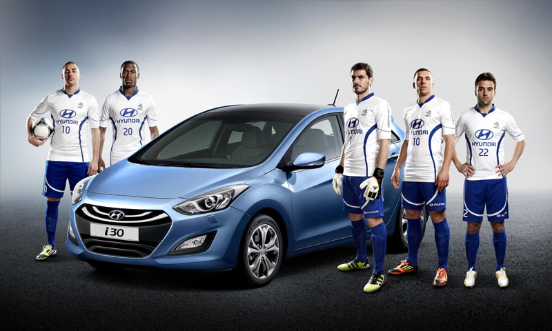 Team Hyundai to promote UEFA Euro 2012