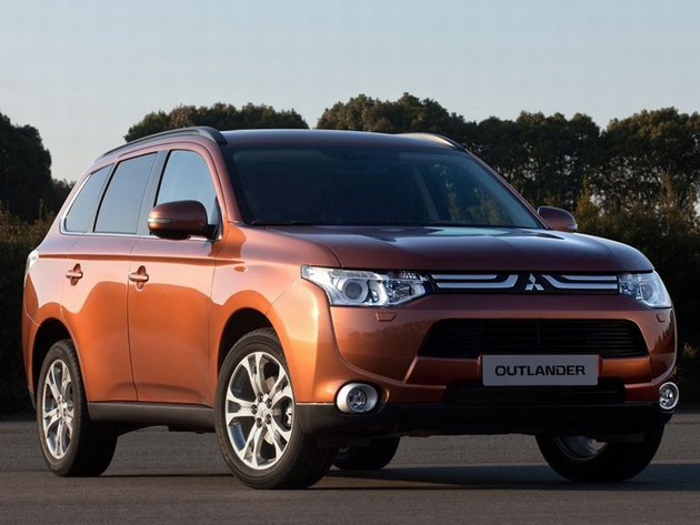 The Mitsubishi Outlander is set to turn heads at the Paris Motor show 2012