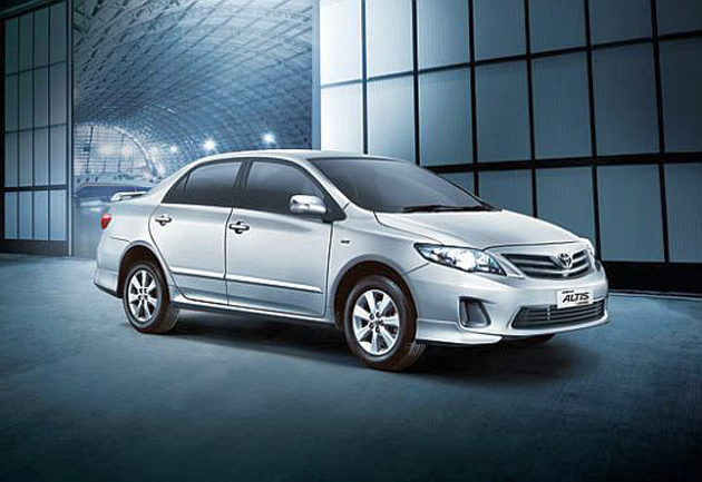 Toyota launches the Limited Edition Altis Aero