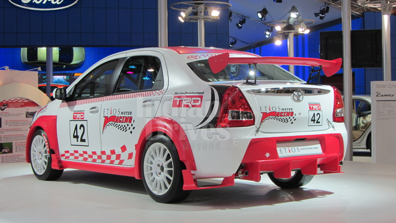 Toyota promotes Etios Motor Racing at its dealerships