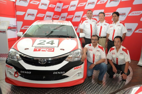 Toyota selects drivers for the first season of Etios Motor Racing Series