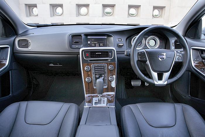 Volvo S60 D3 interior